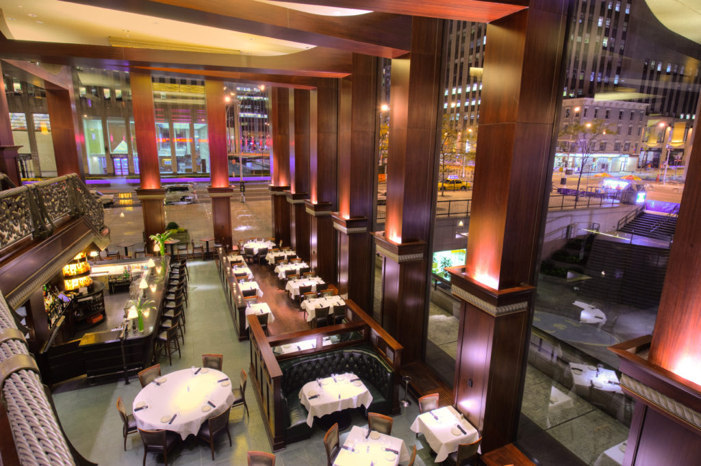 Del Frisco's Double Eagle Steak House New York_Main Interior