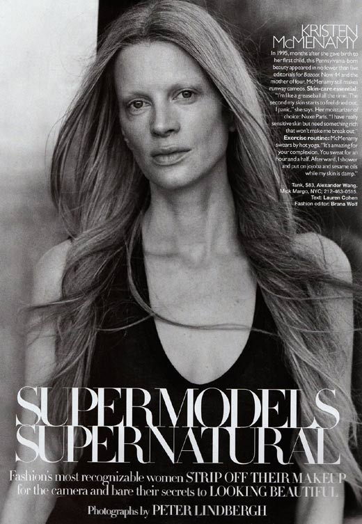 Supermodels Without Make up