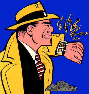 To Dick Tracy (stop) Regarding your last comment (stop)