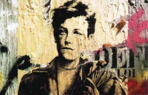 visual of Arthur Rimbaud's life. The much fabled poet's life is shrouded