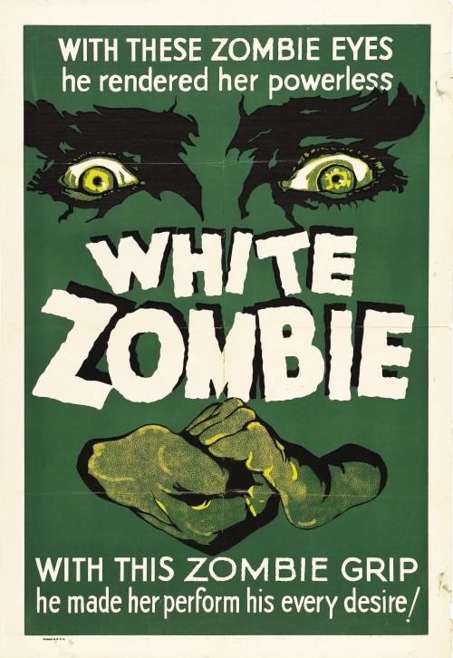 white zombie poster Bela Lugosi birthday
