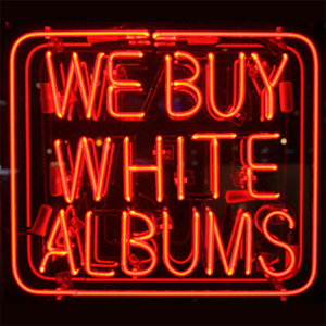we buy white albums