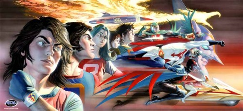Gatchaman  Alex Ross