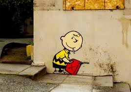 Banksy Charlie Brown Gasoline