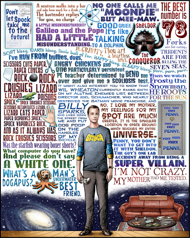Bazinga by Chet Philips